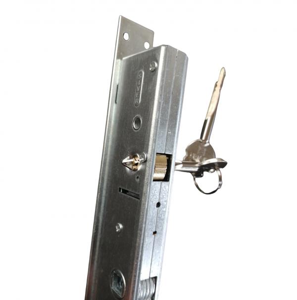 serratura 921 siver entrata 25 a spillo