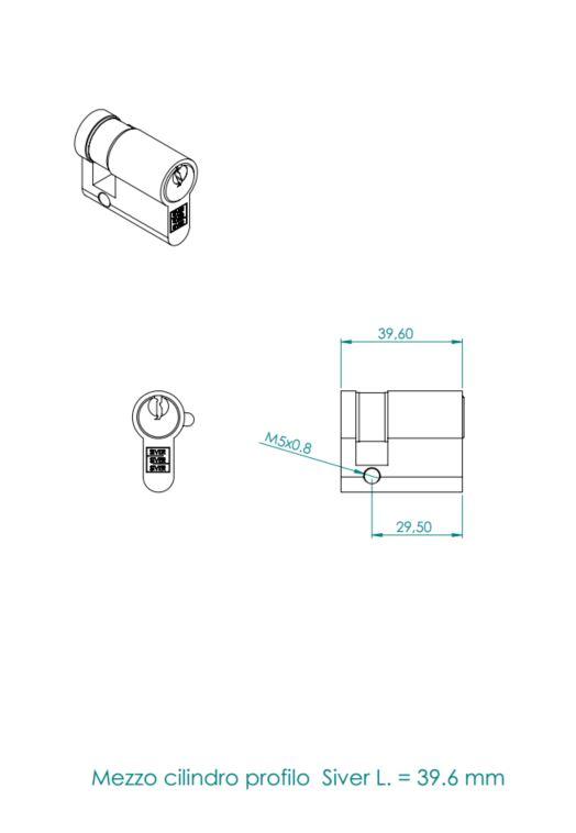 mezzo cilindro siver